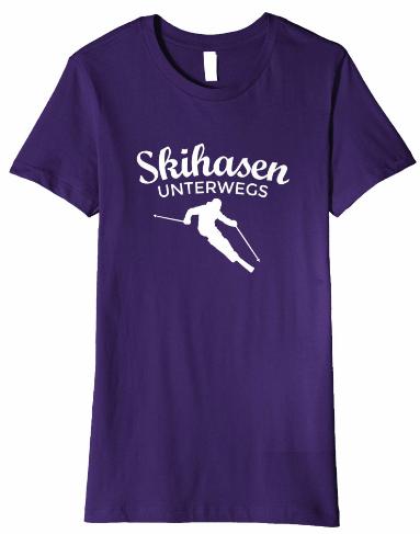 Ski T-Shirts für Skihasen unterwegs