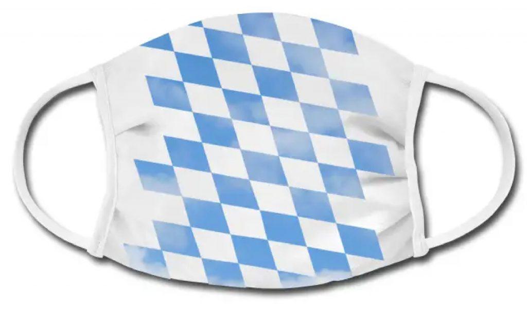 Mundschutz-Masken Bayerisch